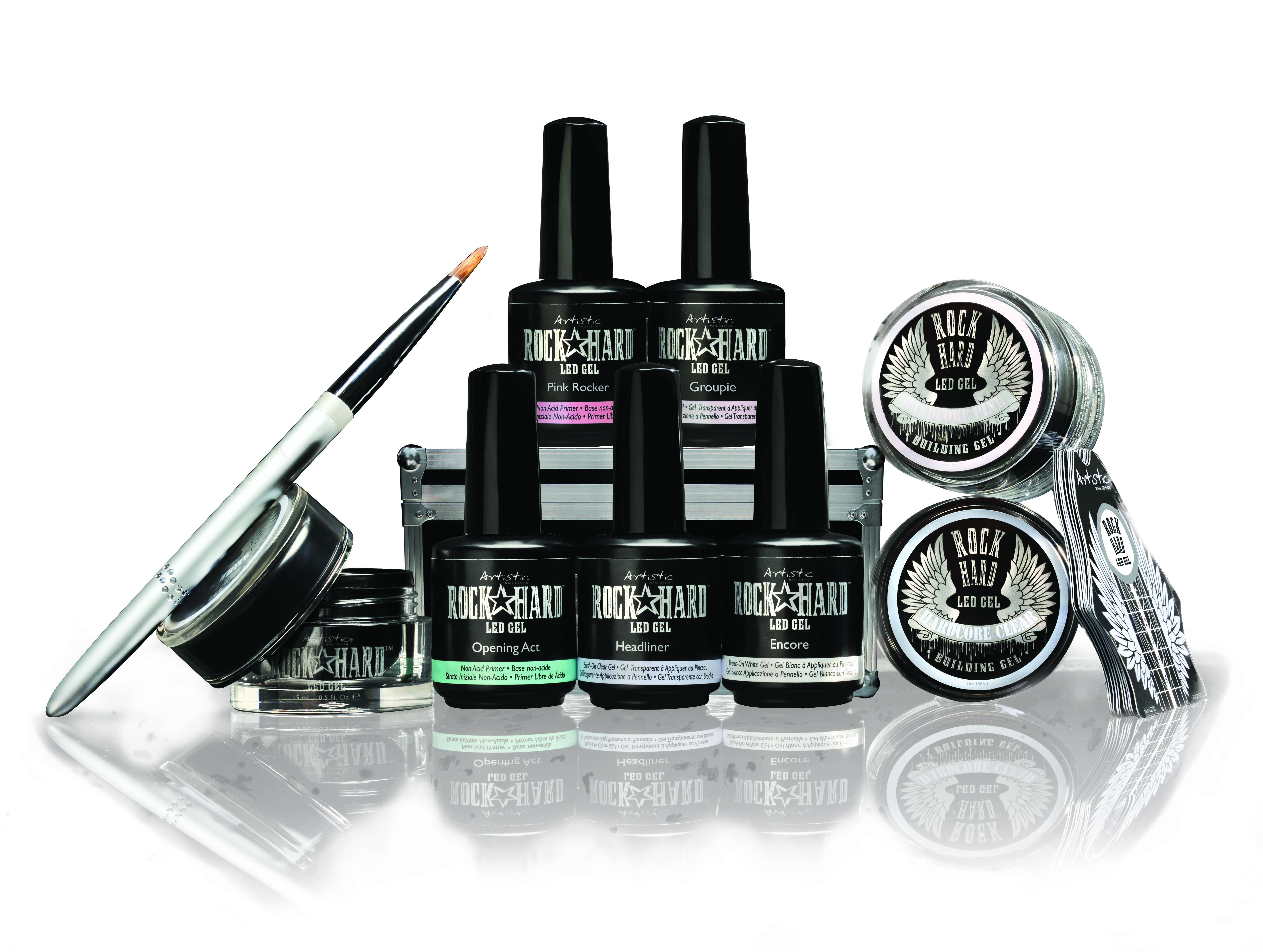 Coming Soon To The Urban Spa Artistic Rock Hard Nails