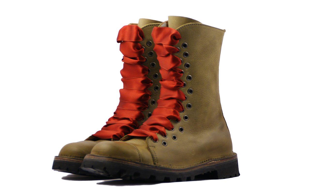 f6b49d66846 Chaussures en cuir Art H Pied Boots Femme