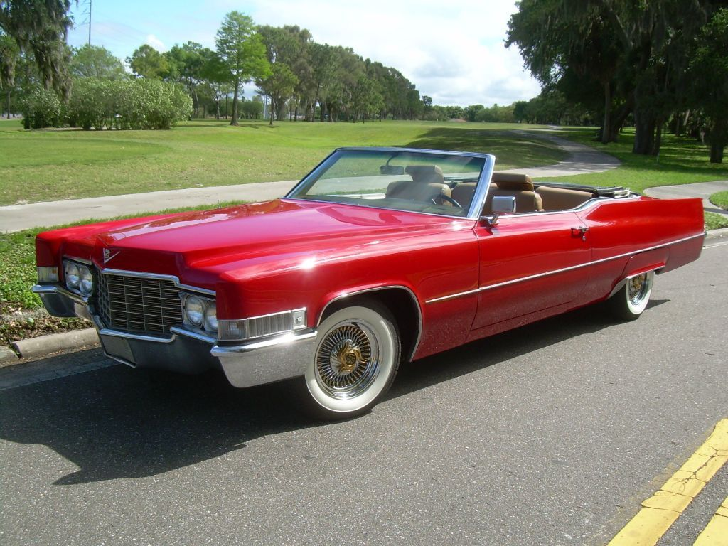 1969 Cadillac Deville Convertible | Clic and Vintage Cars ...