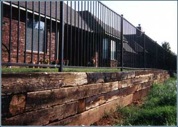 This Website Has Expired Outdoor Steps Railroad Tie Retaining Wall Home Building Design