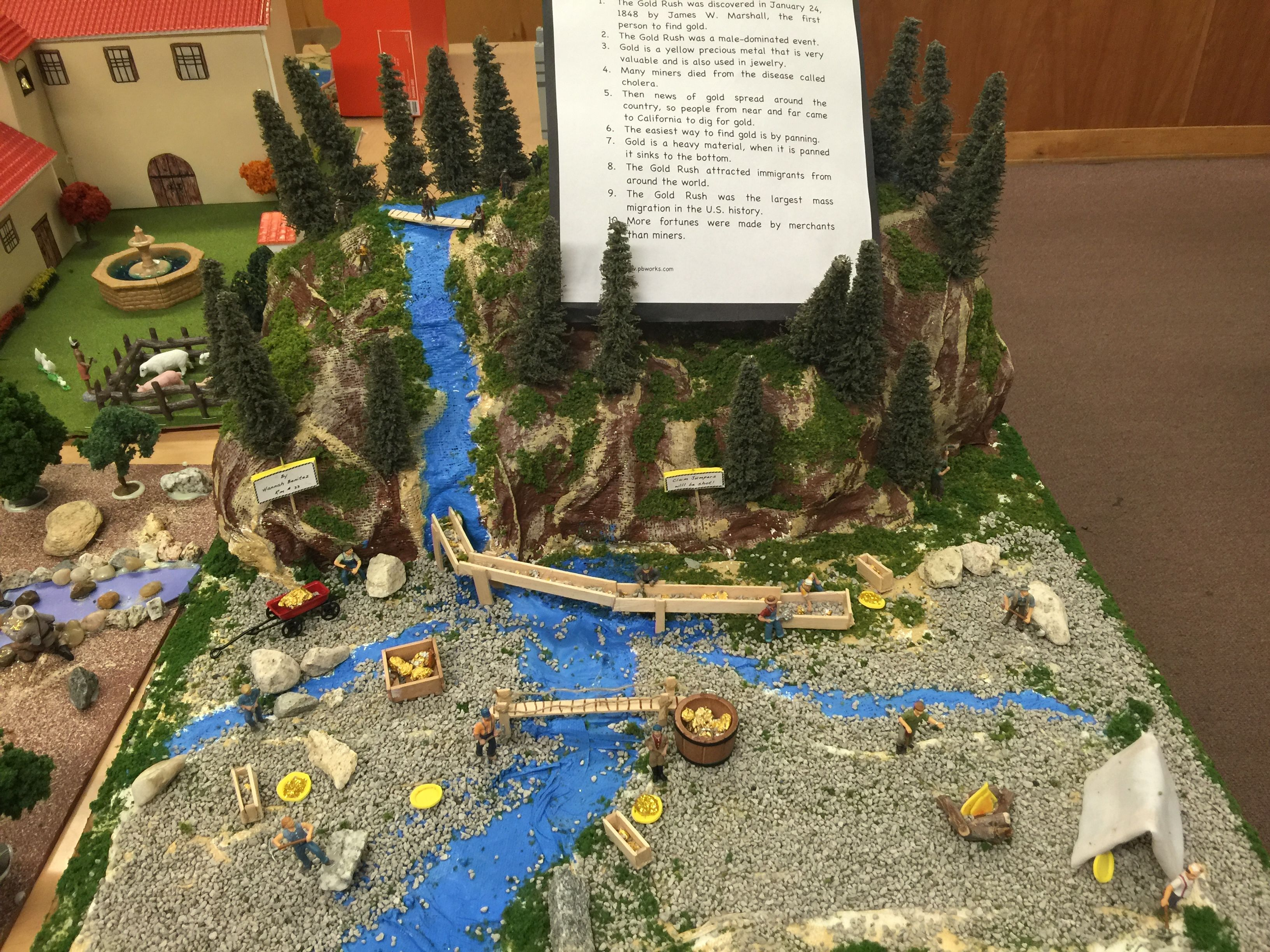 Pin By Leslie Stevens On Wyatt 4th Grade Class Gold Rush