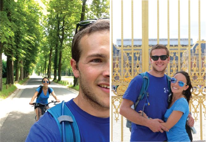 day trip: biking from Paris to Versailles. yep, you can do it too!