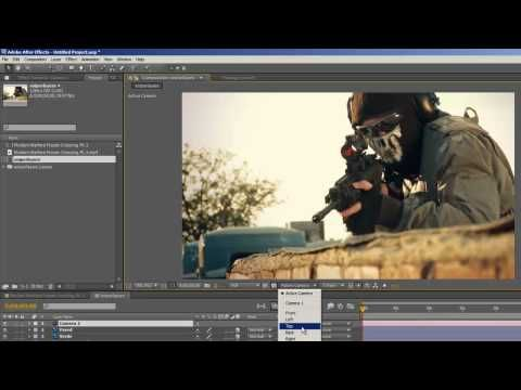 Tutorial de After Effects - Como convertir una foto en 3D