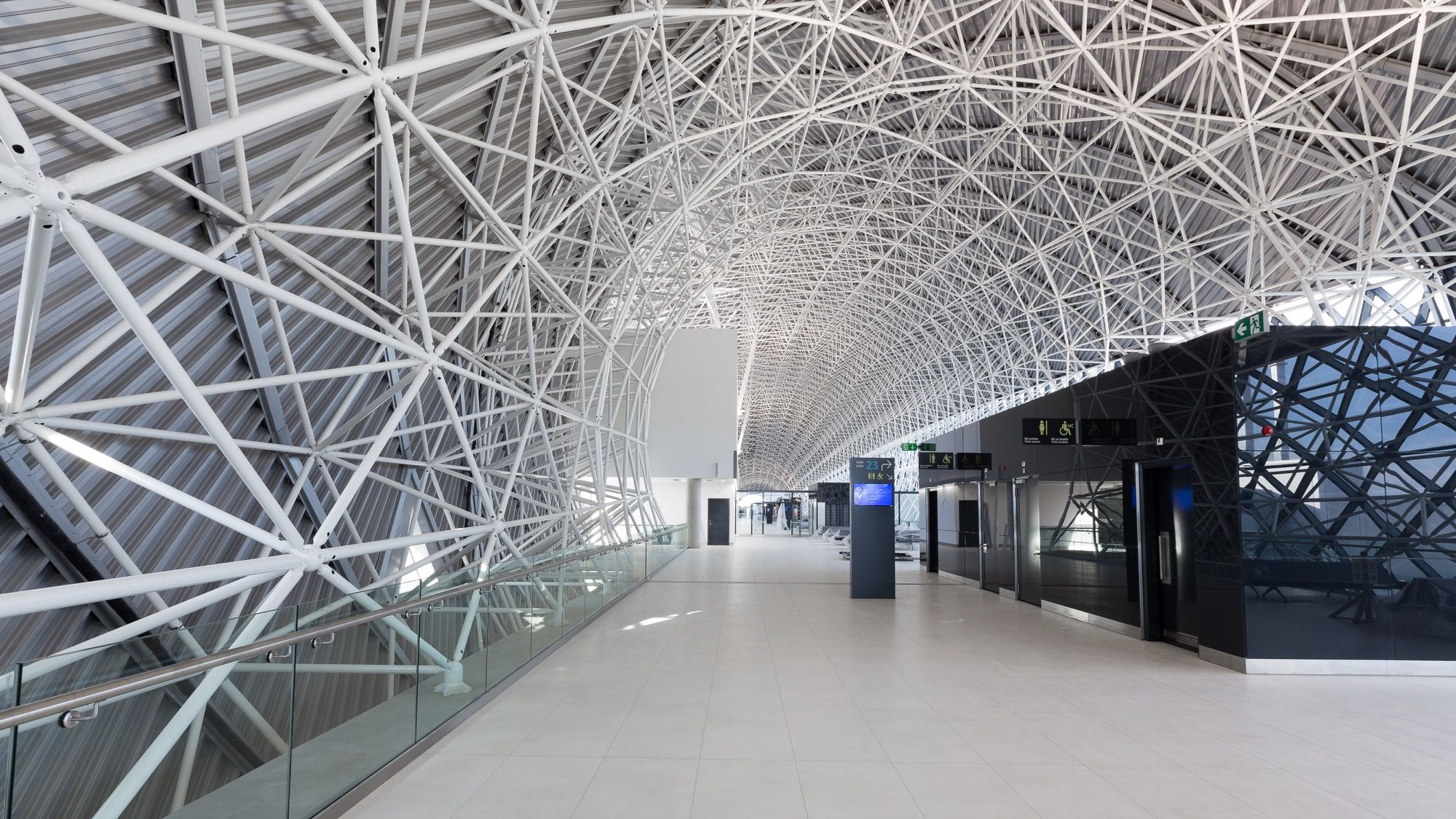 Image 1 Of 31 From Gallery Of Zagreb Airport X2f Kincl Neidhardt Institut Igh Photograph By Josip Skof Architecture Landmark Zagreb Architecture