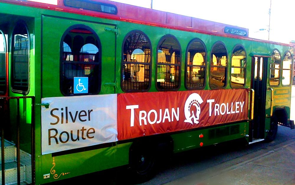 Trojan Trolley Trojan, Route, Campus
