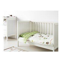 SUNDVIK Crib White