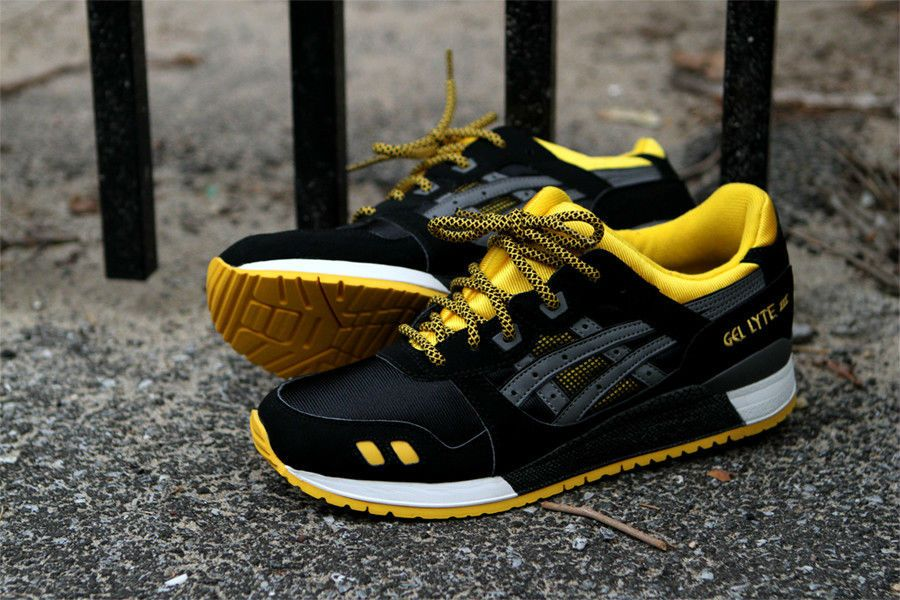 b39b7a6041a1 asics gel lyte iii kithstrike black yellow