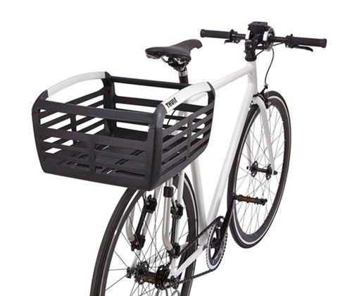 Thule Pack N Pedal Basket For Bike Racks 33 Lbs Black Thule