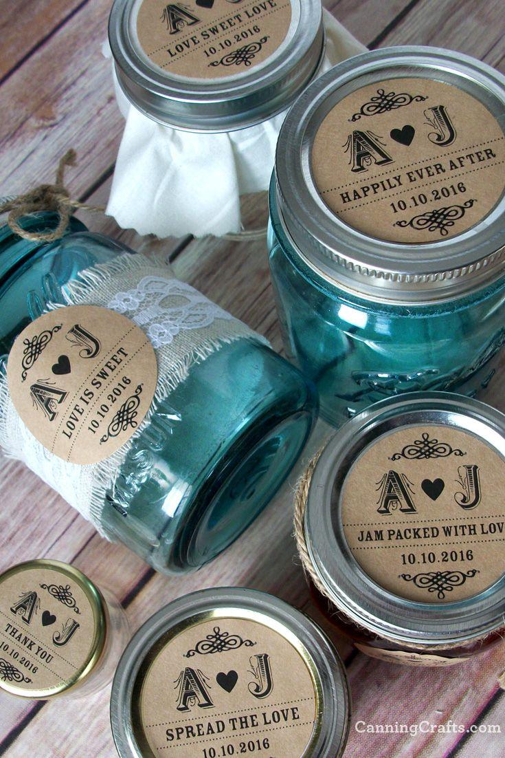 Jam Jars For Wedding Favors Topsimages