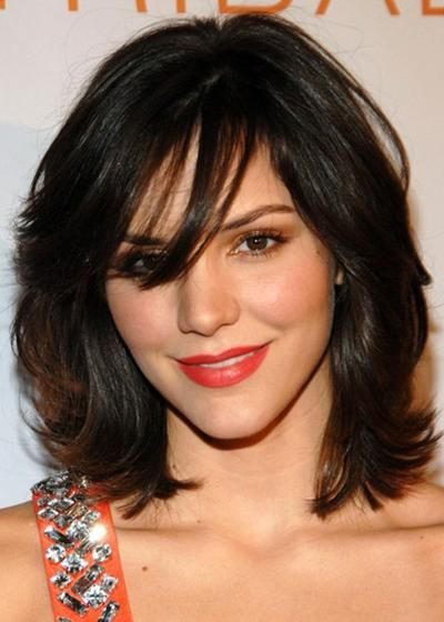 Above Shoulder Length Hairstyles My Hairstyle Pinterest Hair