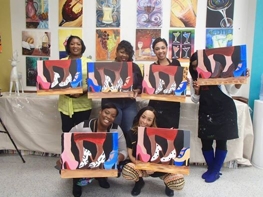 Painting With A Twist Dallas Team Building Places To Go