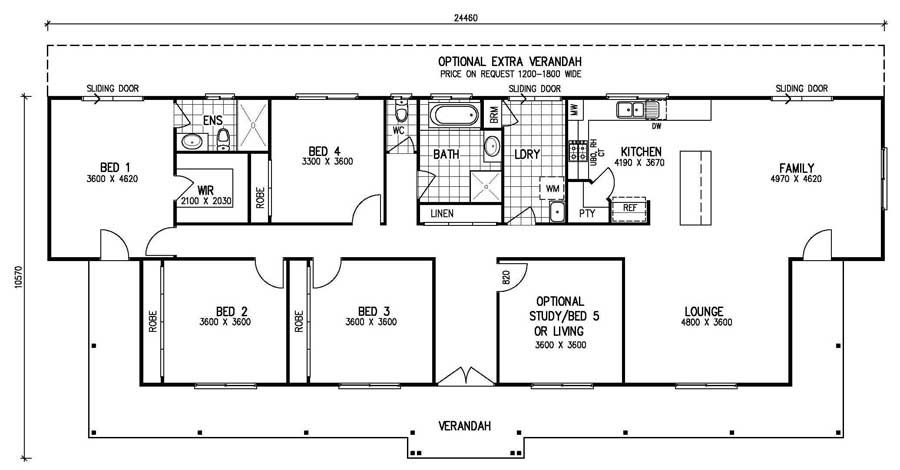 High Resolution 5 Bedroom Home Plans 5 Bedroom House Plans Bedroom House Plans House Floor Plans