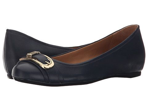 Womens Shoes Calvin Klein Morna Deep Navy Leather