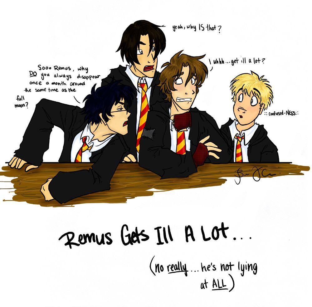 Sick fanfiction lupin remus Lupin Boys