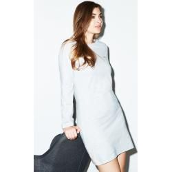 Photo of Long-sleeved sleep shirt in gray melange joop