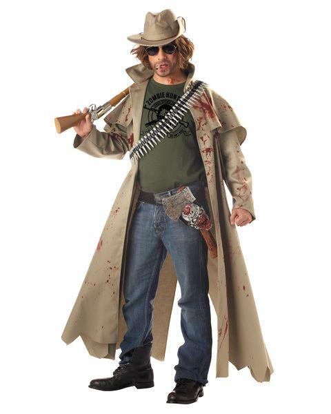 Mens Zombie Hunter Costume Wholesale Horror Halloween Costume for - zombie halloween ideas