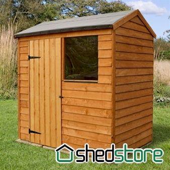 garden sheds 3 x 4