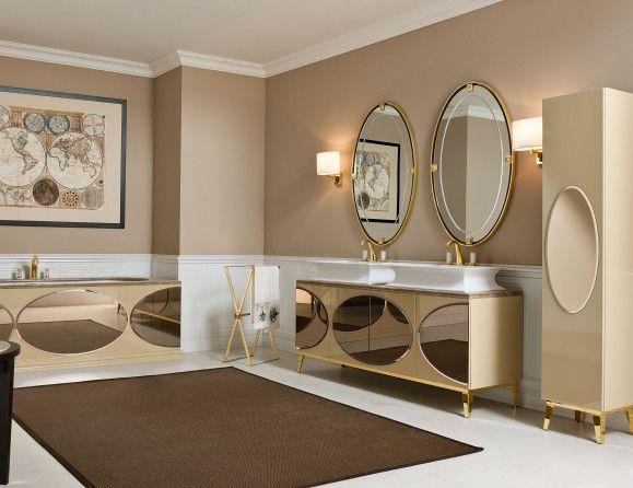 Nella Vetrina Rivoli Luxury Italian Bathroom Vanity Bathroom Design Trends Bathroom Furniture Modern Modern Bathroom Design