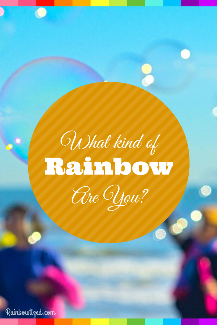 Are you a traditional rainbow? Maybe a double rainbow. Take this quiz and find out what kind of rainbow you are.