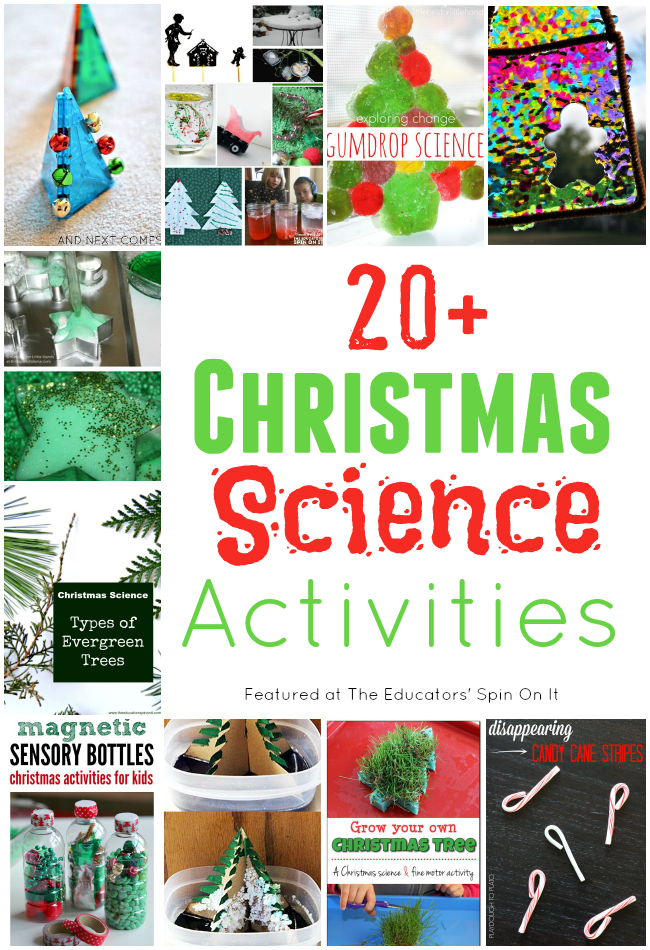 Christmas Science Activities for Kids - The Educators' Spin On It