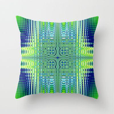 Fractal Art 053 Throw Pillow by EML - CircusValley - $20.00