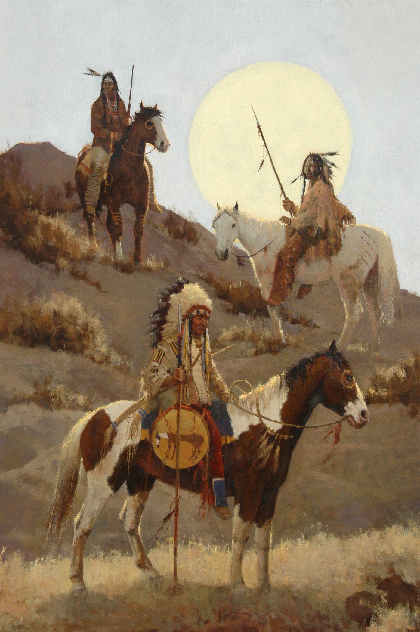 "Richard D. Thomas (1935 ) ""Sentries' Light"" Native"