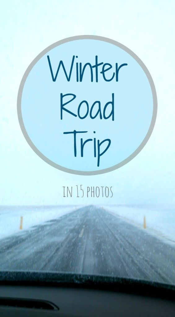 The Path She Took | Winter Road Trip – in 15 photos