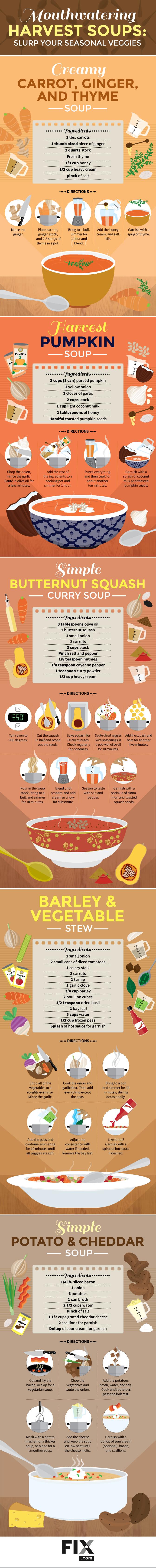 Harvest Soups: Slurp Your Seasonal Veggies