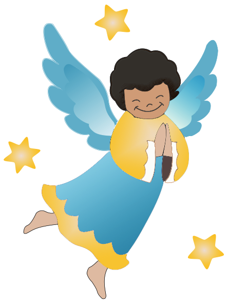 angel clipart free graphics of cherubs and angels angels rh pinterest com  christmas angel clipart black and white free