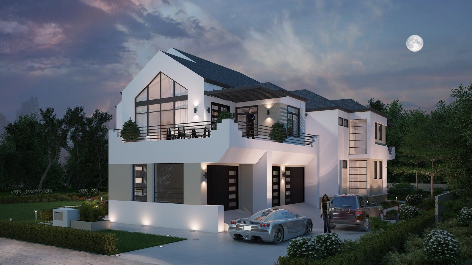 5 Bedroom House Floor Plan Instant Download, Luxury Floor ...