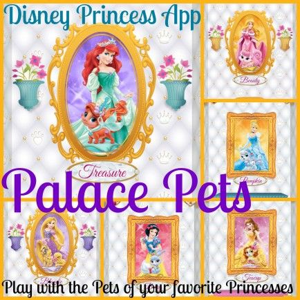 Disney Princess Palace Pets Your Daughter Will Love This App You Will Love That It Is Free Disney Princess Palace Pets Palace Pets Princess Palace Pets