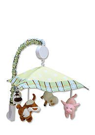 Trend Lab® Baby Barnyard Musical Crib Mobile - Online Only