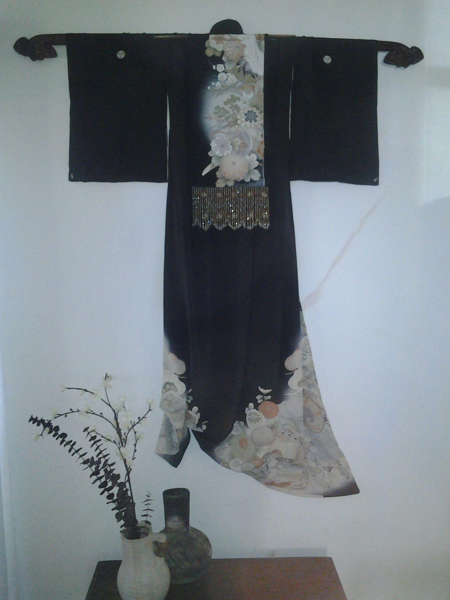 Kimono Wall Hanging Asian Home Decor Japanese Decor Asian Inspired Decor