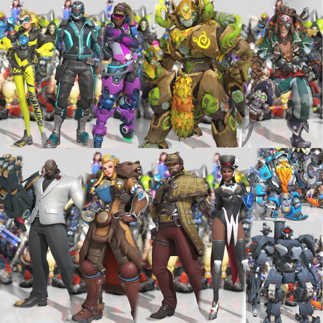Overwatch: Skins de evento de Aniversário vazadas no Reddit | Games