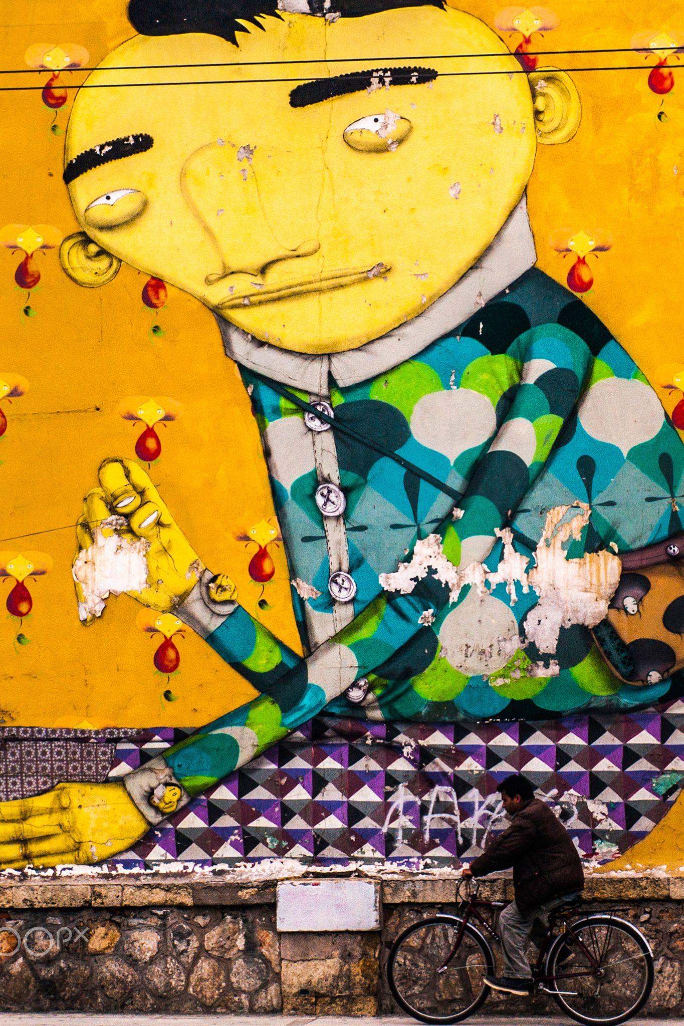 Street Art | Os Gemeos in Athens | street art | Pinterest | Street art