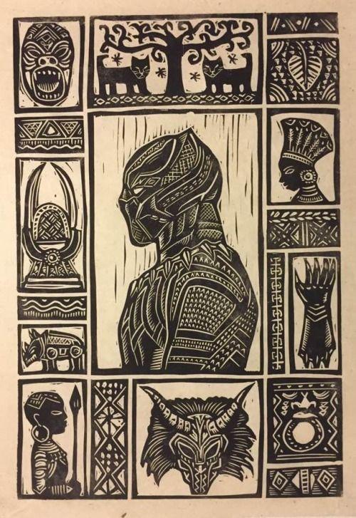 Black Panther Stitch - Brian Reedy