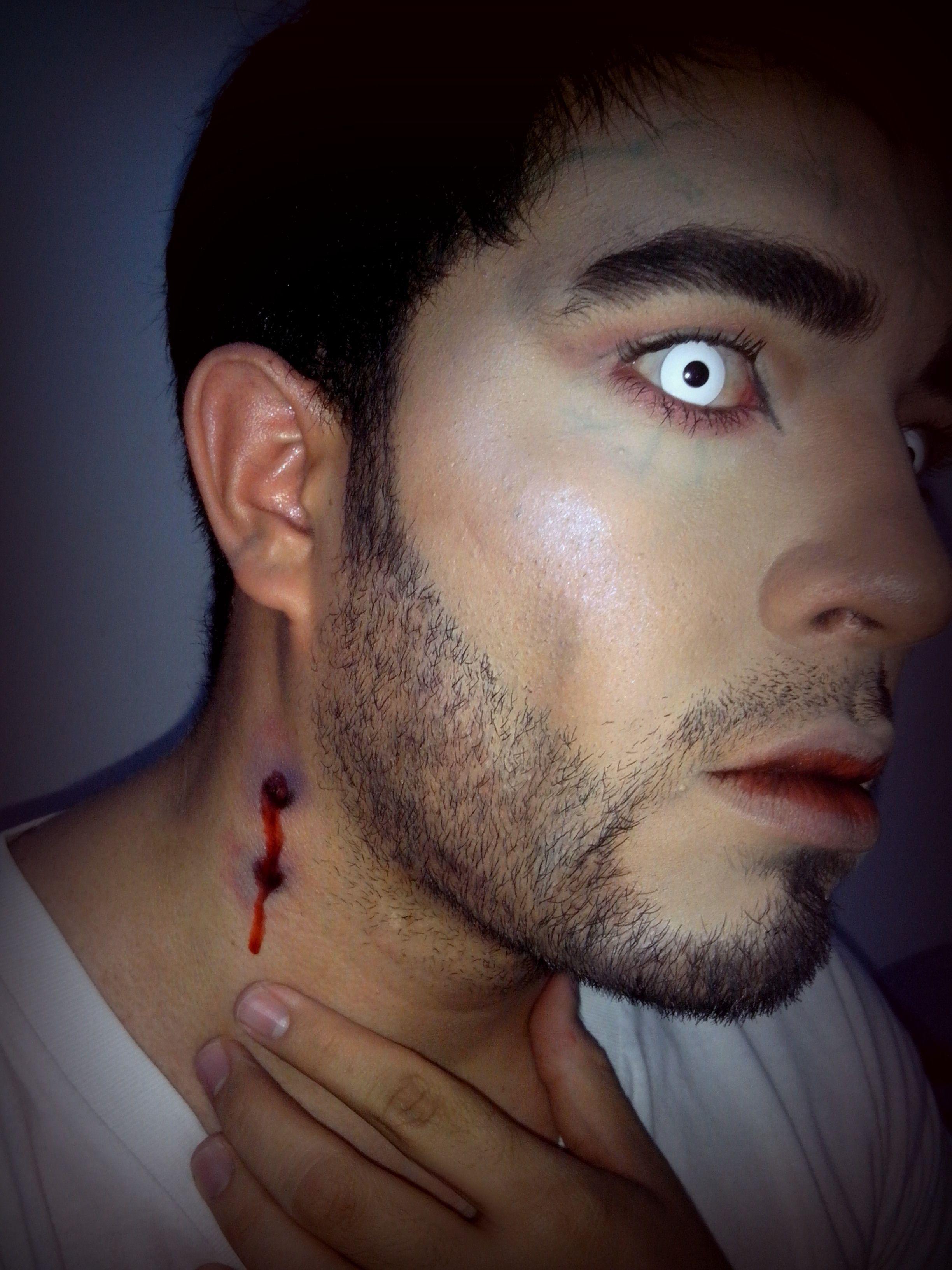 halloween makeup vampire man - photo #5