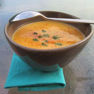 Légèreté & Gourmandises: Soupe au potiron (1 PP)