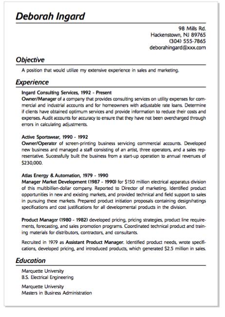 Example Of Operator Sportswear Resume - http://exampleresumecv.org ...