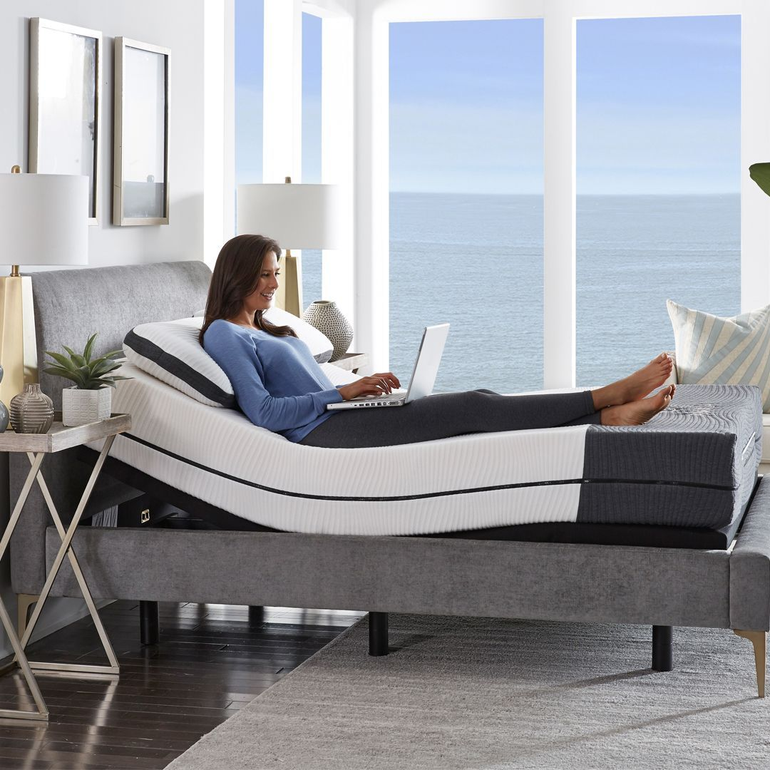 The Ananda Mattress has articulated slits and grooves cut