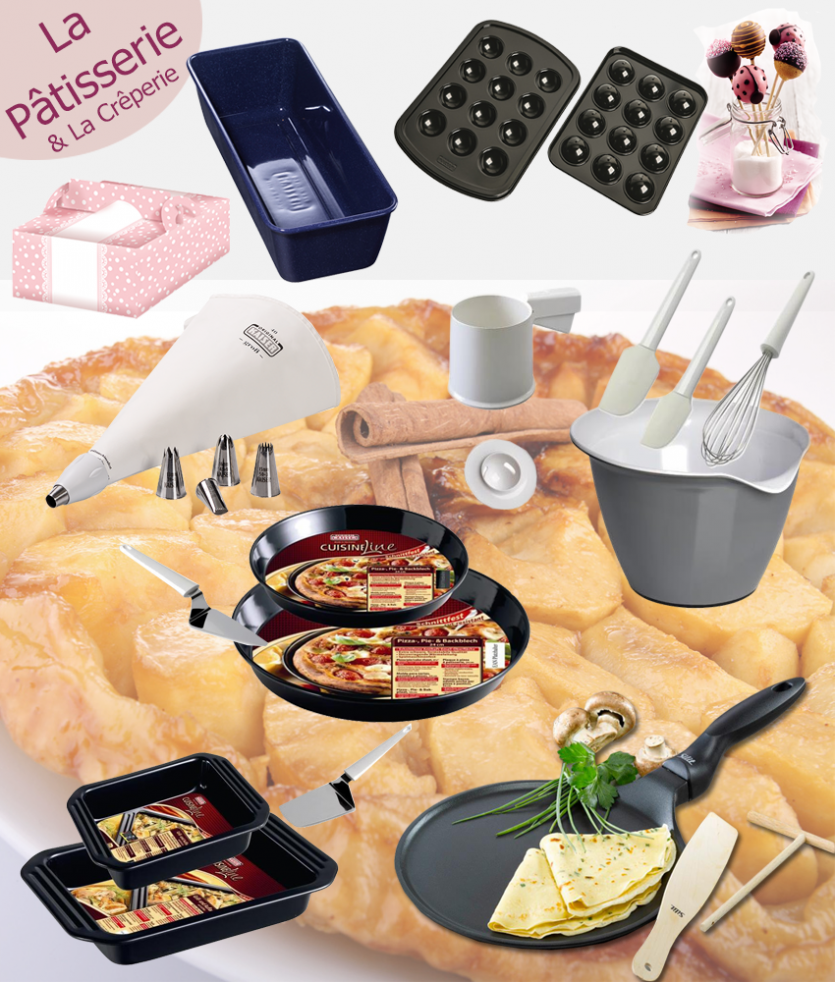 Ustensiles A Patisserie Vente Directe Conseillere Culinaire