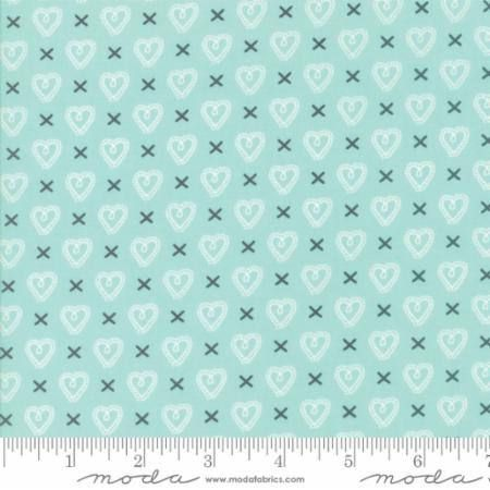Sugar Pie Aqua 5043 15 Moda Fabrics 100% Cotton Quilting