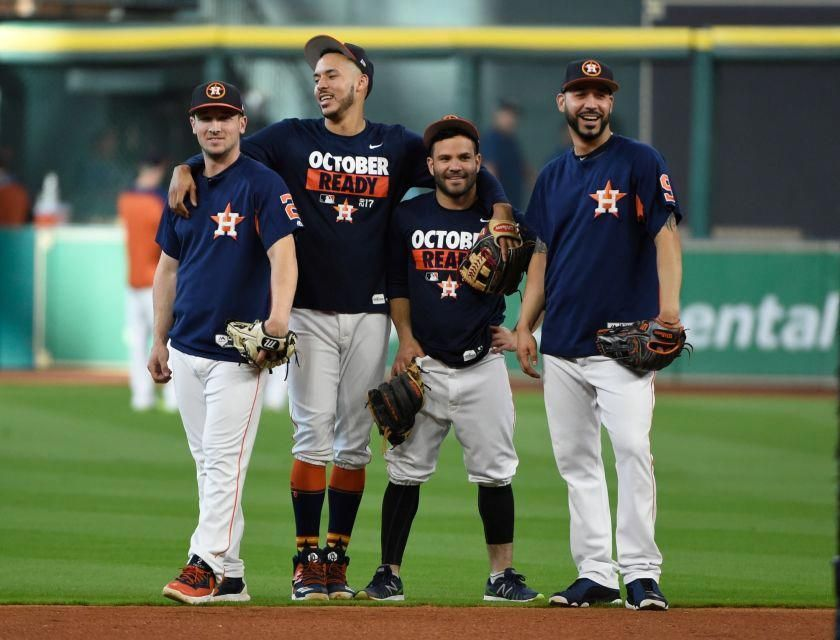 October 21 2017 Alcs Game 7 Yankees At Astros The Yankees Fell To The Houston Astros 4 0 In Game 7 O Baseball Camp Baseball Playoffs Baseball Training