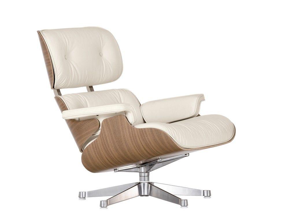 Eames Lounge Chair White Walnut White Eames Chair Vitra