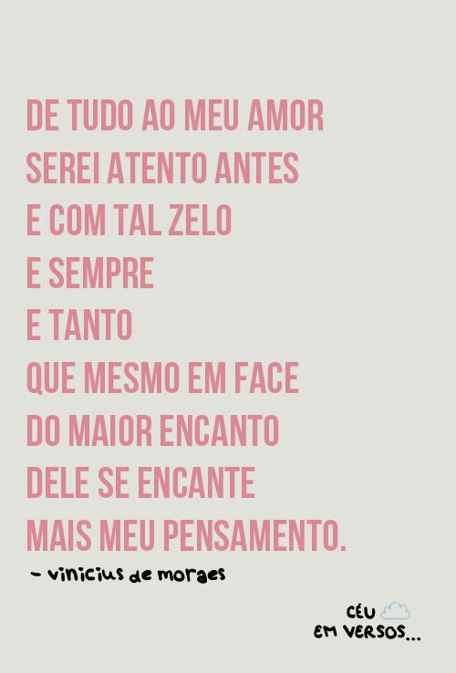 Vinicius De Moraes Caligrafia Pinterest Amor Citações E