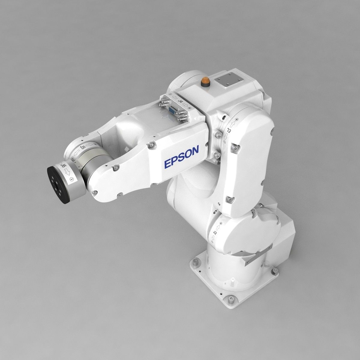 3d industrial robotic arm epson model