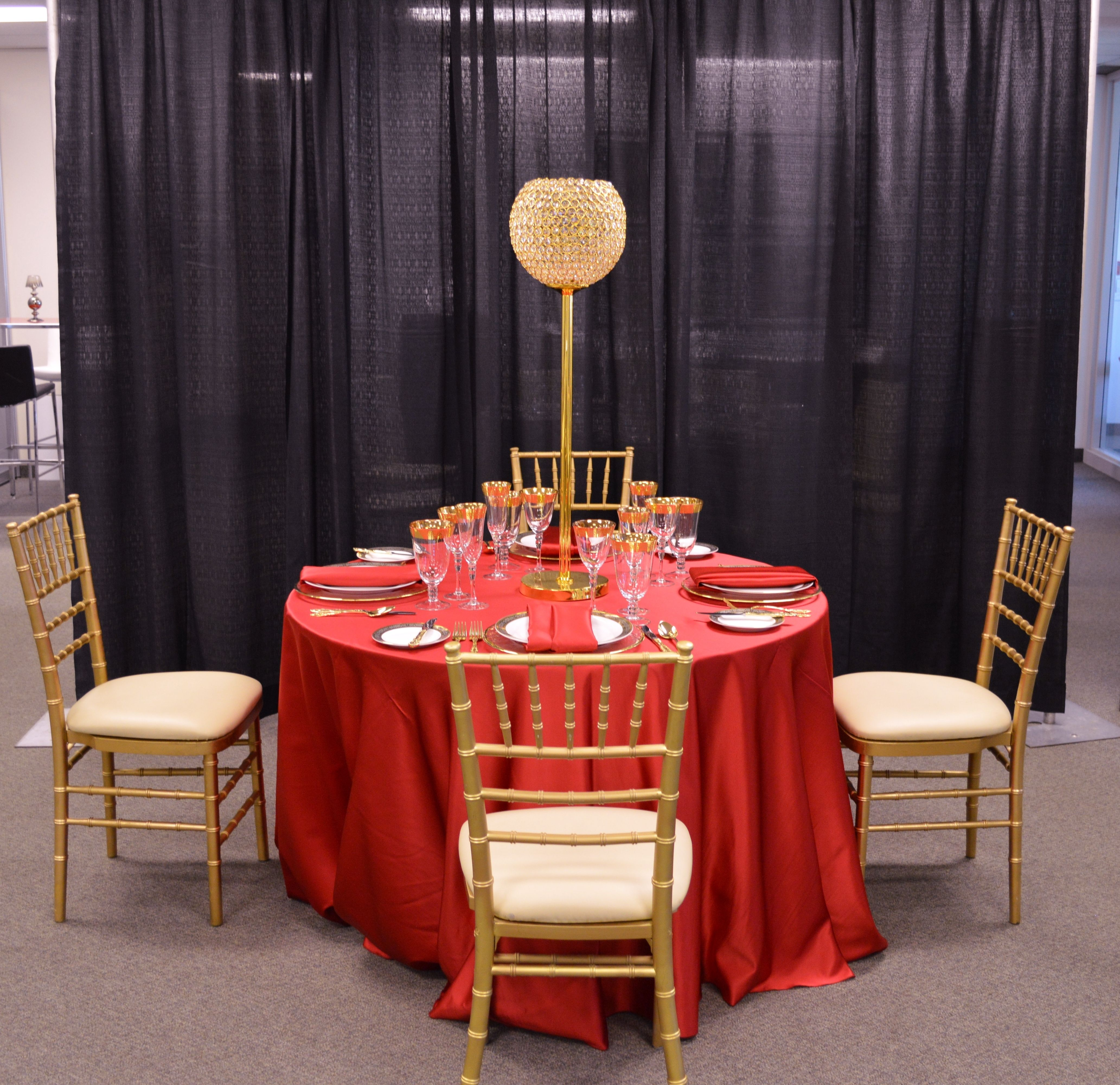 chiavari chairs china wheelchair rental orlando gold chair with ivory seat rouge satin linen