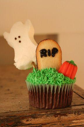 Halloween cupcake idea Sweets Cakes, Cupcakes  Pies Pinterest