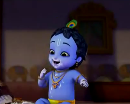 Darling Of Vrindavan Little Krishna Series Little Krishna Cute Krishna Baby Krishna