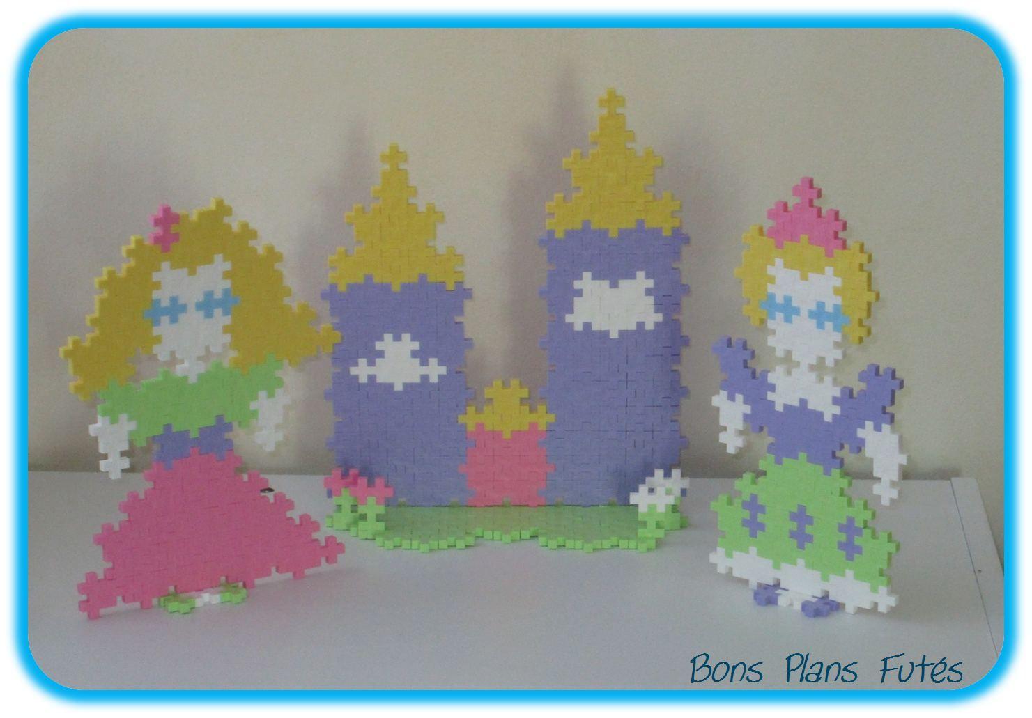 600 Blocs de construction Plus-PLUS Mini pastel Learn to Build
